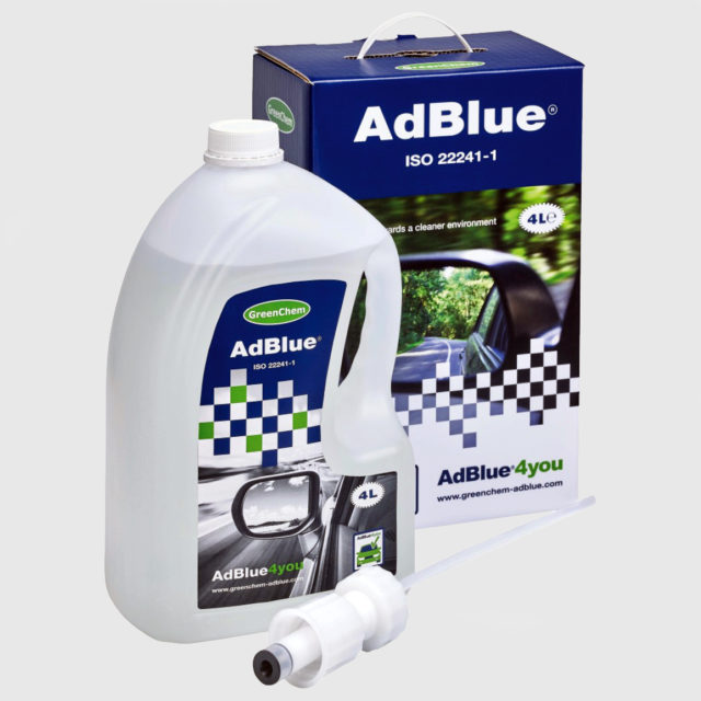 4 litre canister of GreenChem AdBlue