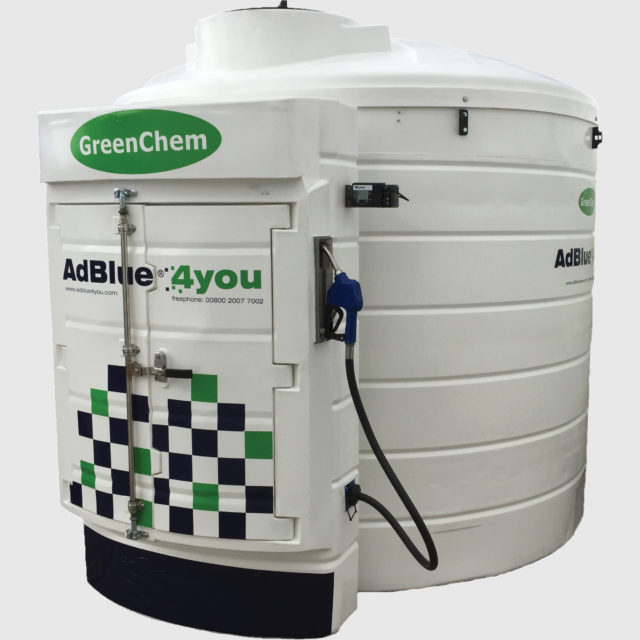 T-System tank Dispensing AdBlue System by GreenChem AdBlue4You